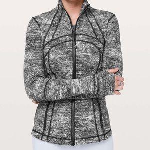*NWT* lululemon define jacket SIZE 6 black & white